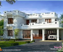 roof modern flat roof house design kerala home beautiful roof