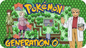 pokemon fan games online pokemon generation 0 pokemon fan game youtube