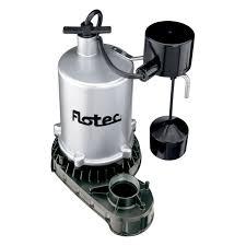 flotec 3 4hp motor submersible sump pump fpzt7450 sump pumps
