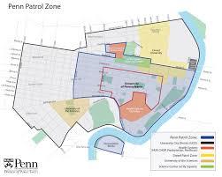 Amtrak Status Maps Penn Patrol Zone And University City Area Map U2013 Division Of Public