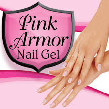 pink armor nail gel protective nail gel as seen on tv com shop