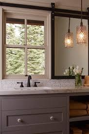 Rustic Vanity Mirrors For Bathroom - dream home in tahoe when rustic meets modern door mirrors barn