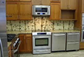 kitchen backsplash contemporary hand painted tile backsplash the