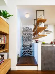 Ceiling Mount Storage by Smart Storage With Ceiling Mounted Open Kitchen Shelves