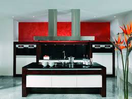 red and black kitchen accessories rectangular elegant duco glosy