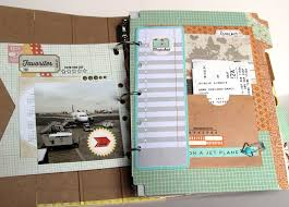 vacation photo albums the paper orchard basic grey capture carte postale