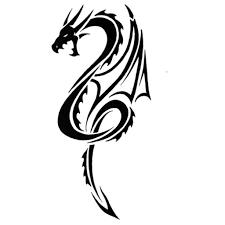 simple tribal dragon tattoos 32 simple tribal dragon tattoos