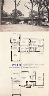 Mid Century Modern Ranch House Plans 220 Best Vintage House Plans 1960s Images On Pinterest Vintage