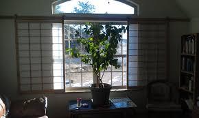 window shoji with hanging barn door hardware granite mountain