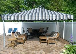 Free Standing Canopy Patio Residential Awnings Bill U0027s Canvas Shop
