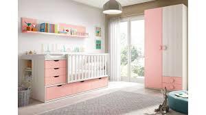 chambre bébé modulable chambre de bébé fille complète avec lit évolutif glicerio so nuit