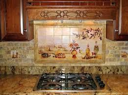 Painted Kitchen Backsplash Ideas Es Hand Painted Tile Backsplash Ideas Kitchen Tiles Subscribed