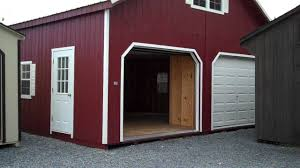 Two Story Storage Sheds Sheds Unlimited 2 Story Garage Youtube