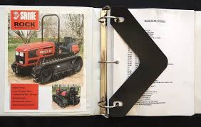 genuine deutz fahr same rock 50 60 70 crawler tractor service