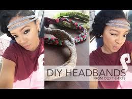 cool headbands diy t shirt headbands