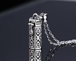 cremation pendants stainless steel cylindrical cremation pendants for ebay