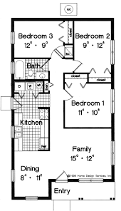 best floor plans under sf images on pinterest simple house small
