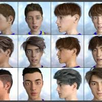 Boys For Boys For Easy Shape Master For Genesis 8 3d Models And 3d