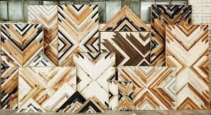 wooden wall hanging design by aleksandra zee san francisco