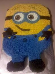 despicable me minion birthday cake by missblissbakery on deviantart