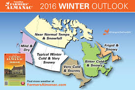 say it ain t snow canadian farmers almanac predicts another