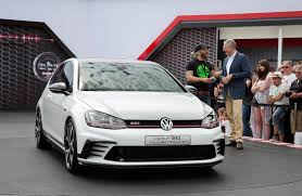 gti volkswagen 2016 vw golf gti clubsport concept previews production model for