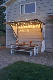 Canopy For Backyard by 42 Best Diy Backyard Projects Ideas And Designs For 2017