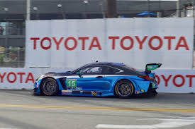 lexus racing car lexus rc f gt3 no 15 qualifies for second position in bubba
