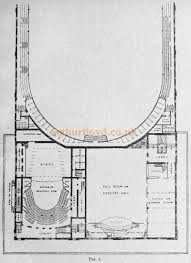 Concert Hall Floor Plan Concert Halls And Assembly Rooms