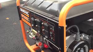 generac gp6500e youtube