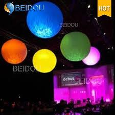 china led advertising pvc balls stand ground spheres