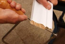 How To Cut Crown Moulding For Kitchen Cabinets Steps To Cut A Cope Joint On Crown Moulding At The Home Depot