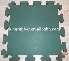 interlocking floor tiles gym sports flooring rubber sheet