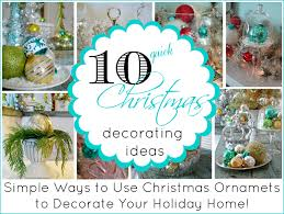 fox home decor 10 quick ideas for decorating with christmas ornaments fox