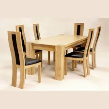 Oak Dining Table With 6 Chairs Dining Room Oak Table Dining Sets Honey Oak Dining Room