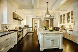 coffered ceilings pictures white brick backsplash tiles bronze