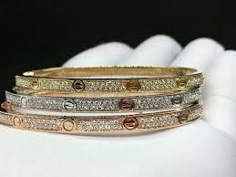 diamond love bracelet images Discount cartier love bracelet yellow gold diamonds jpg