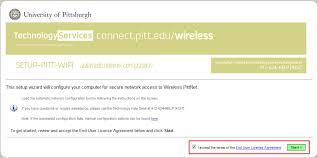 pitt technology help desk pittnet wireless prepare your computer to use wireless pittnet