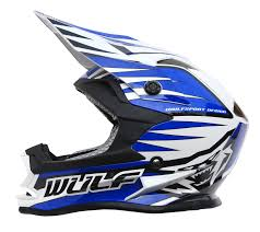 childs motocross helmet wulf advance junior kids motocross helmet attack jersey pants