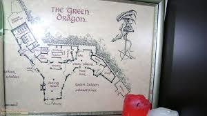the hobbit an unexpected journey green dragon floor plan replica