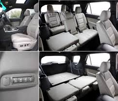 how many seats does a 2012 dodge durango and 2012 ford explorer reports of the suv s