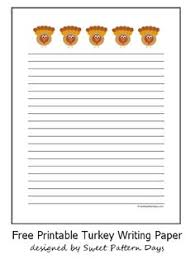 printable writing papers for thanksgiving happy thanksgiving