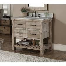 36 inch bathroom cabinet rustic style carrara white marble top 36 inch bathroom vanity