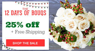 flower coupons christmas flower sale 25 bouqs free shipping southern