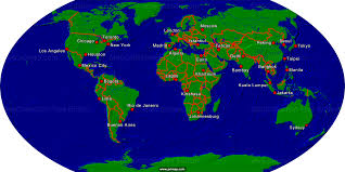 Istanbul World Map by Primap World Maps