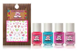 amazon com piggy paint nail polish gift set tiny tiaras 0 25