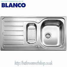 Steel Kitchen Sinks BLANCO Lanis S Stainless Steel Kitchen Sink - Kitchen sinks price