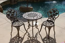 Aluminum Cast Patio Dining Sets - vintage cast aluminum patio furniture home design great photo to