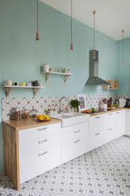 cuisine bleu pastel comment aménager et décorer une cuisine 30 idées à piquer