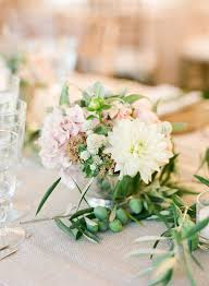 small centerpieces small white wedding centerpiece elizabeth designs the